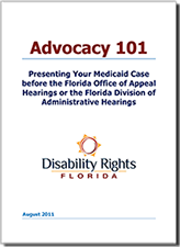 Image of the Advocacy 101 e-booklet cover