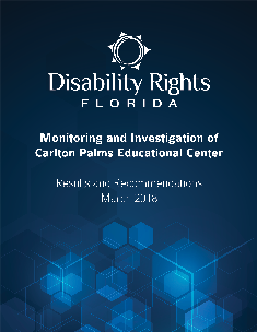 Carlton Palms Report Cover