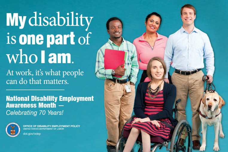 National Disability Employment Month Flyer