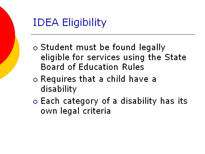an introduction to special rights programs Why is special education important if you're on our site researching phd programs in special education, you know what special education is and why it's so important.